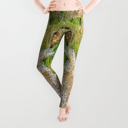 Ocean Grass Leggings