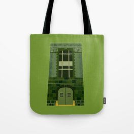 Ghostbusters HQ Tote Bag