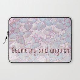 """Geometry and anguish"" Laptop Sleeve"