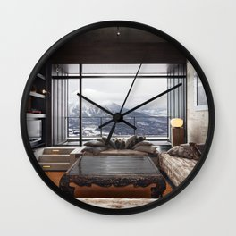 Suiboku Wall Clock