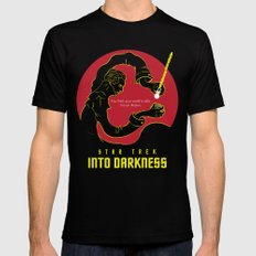 Star Trek Into Darkness Version 2 MEDIUM Black Mens Fitted Tee