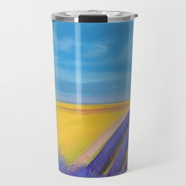 LAVENDER FIELD of SANTA YNEZ Travel Mug