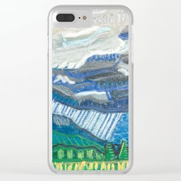 Rain in the Blueridge Clear iPhone Case