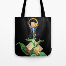Moon fairy and the space scientists Tote Bag