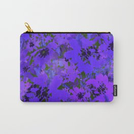 Heavenly Blue Garden Carry-All Pouch
