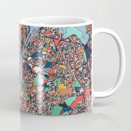 New York City Abstract Map Art Coffee Mug