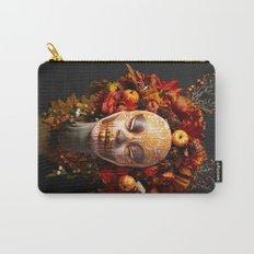 Pumpkin Harvest Muertita Carry-All Pouch