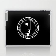 BAUHAUS LOGO / BLACK Laptop & iPad Skin
