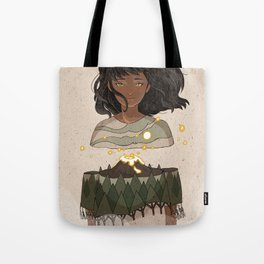 Volcano Within Tote Bag