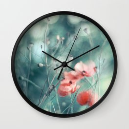 Dreaming of Summer Wall Clock