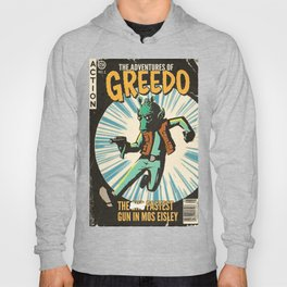 Greedo Vintage Comic Cover Hoody