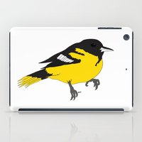 baltimore iPad Cases featuring Baltimore Oriole by AbbieStewPort