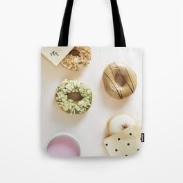 Diverse Donuts Bakery Shop Tote Bag