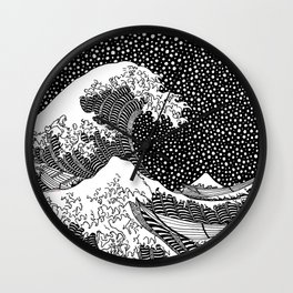 Hokusai - The Great Wave of Kanagawa Wall Clock