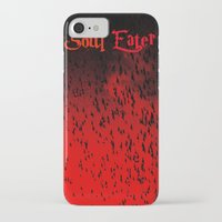 soul eater iPhone & iPod Cases featuring Soul Eater by Deb Adkins