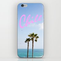 chill iPhone & iPod Skins featuring Chill by thecrazythewzrd