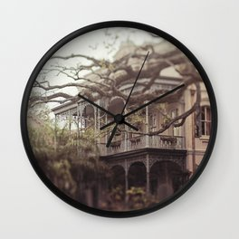 New Orleans Southern Beauty Wall Clock