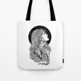HIGHER THAN THE MOUNTAINS Tote Bag