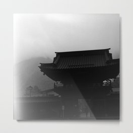 Nikko temple 001 Metal Print