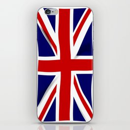 Fluttering Union Jack iPhone Skin