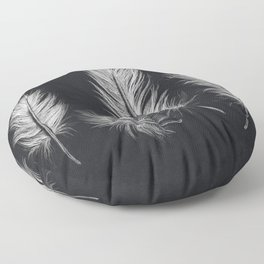 Chalk feather collection Floor Pillow