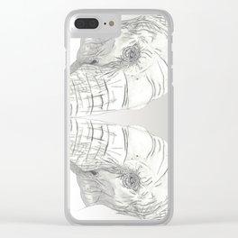 Cutie Pie Clear iPhone Case