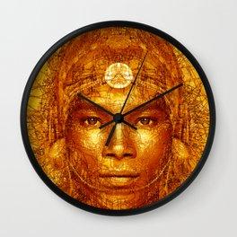 lorn Tribe Wall Clock