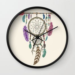 Big Dream Catcher Wall Clock