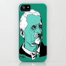 Anton Bruckner Composer contemporary of Wagner Brahms Mahler Ink Portrait Music Organ Art iPhone Case