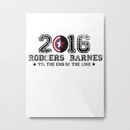 2016 Barnes Rodgers  Metal Print