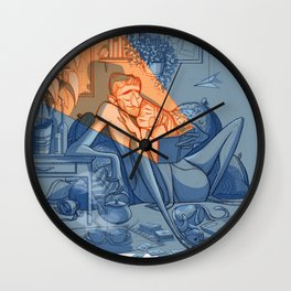 The Book of Love Wall Clock