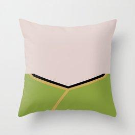 James T Kirk - Minimalist Star Trek TOS The Original Series -  James Jim - startrek - Trektangles Throw Pillow