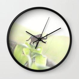 Just Mastodon On Wall Clock