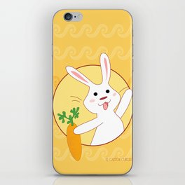 Carrot Time! iPhone Skin