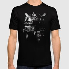 Dalek MEDIUM Black Mens Fitted Tee