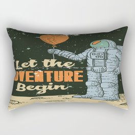 Let the Adventure begin Rectangular Pillow