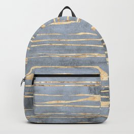 Watercolor Gradient Gold Foil III Backpack