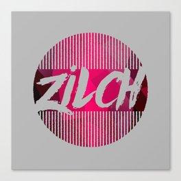 Zilch Canvas Print
