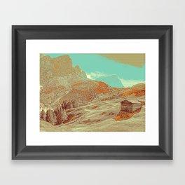 Dolomites Mountains South Tyrol Alpine Italy 4 Framed Art Print