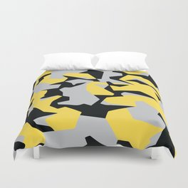 Search products, artworks and themes Yellow CAMO, Keep your stuff hidden in plain sight! Duvet Cover