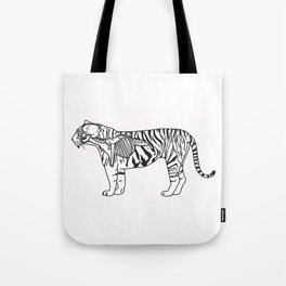 Animal instinct Tote Bag