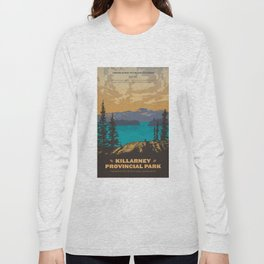 Killarney Park Poster Long Sleeve T-shirt