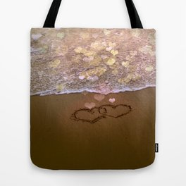 Love vs Letting Go Tote Bag