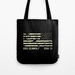 USS Seawolf Tote Bag