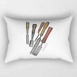 chisels Rectangular Pillow