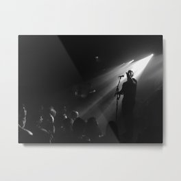 Concert 1 - Mikky Ekko Metal Print