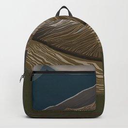 Glacier's uncovered idea Backpack
