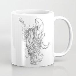 Abstract Santa Claus Coffee Mug