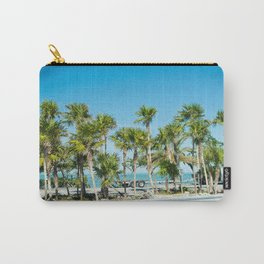 Key West Palm Trees Carry-All Pouch