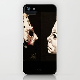 Jason VS Michael iPhone Case